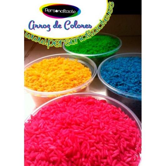 Arroz de colores para bodas por Kilos