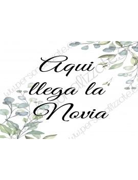 Cartel indicativo Chiara
