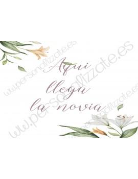 Cartel indicativo Lirica