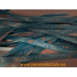 Pulseras Personalizadas(Pack 100 unidades)