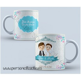 "Taza personalizada ""Crown"""