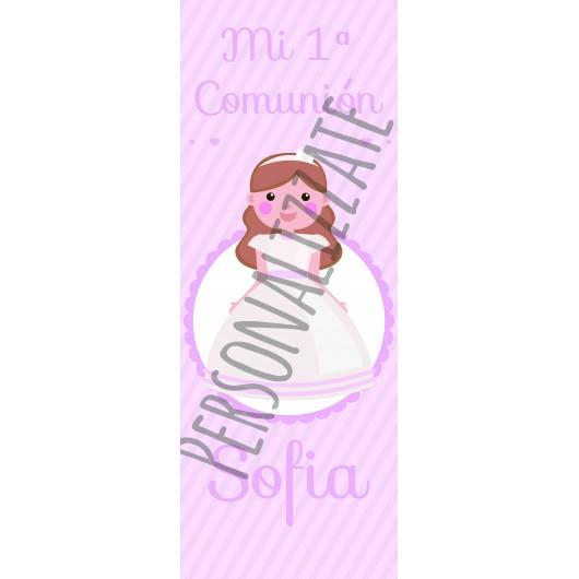 Samless Pink Cartel impreso en cartón 4mm de 160x60 cm