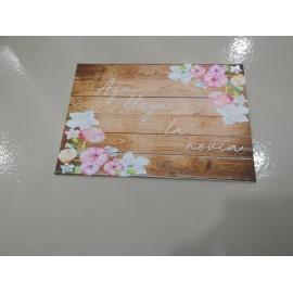 Cartel indicativo woodflower