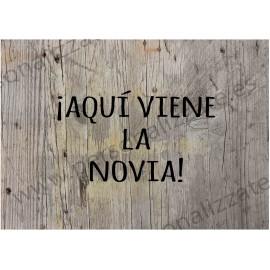 Cartel indicativo Maderavieja