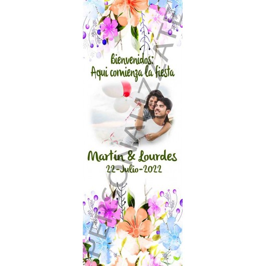 Xbanner Photo personalizado 1,60mx60cm