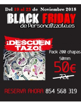 Black Friday Chapas