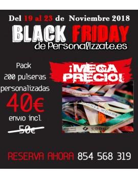 Black friday pack pulseras
