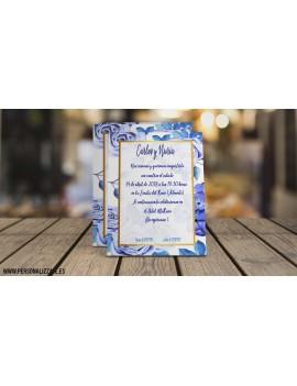 Invitación De Boda Olivia