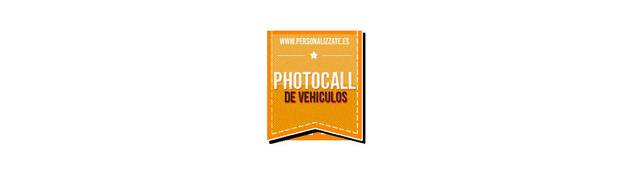 Photocall Vehículos